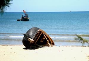 Biển Hải Thanh dưới nắng chiều Thanh Hóa